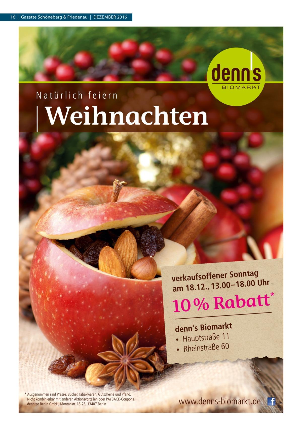 16|Gazette Schöneberg & Friedenau|Dezember 2016