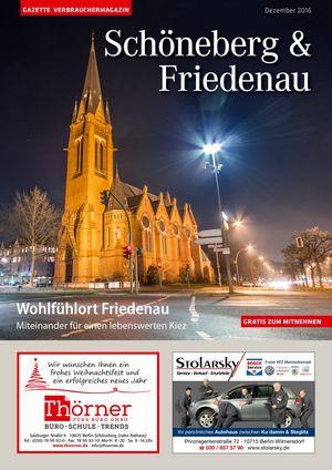 Titelbild Schöneberg & Friedenau 12/2016
