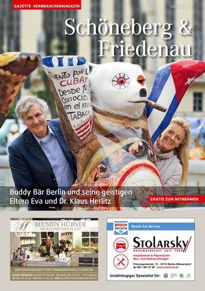 Titelbild Schöneberg & Friedenau 1/2017