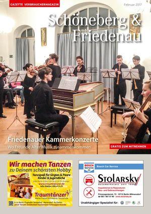 Titelbild Schöneberg & Friedenau 2/2017