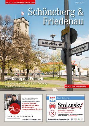 Titelbild Schöneberg & Friedenau 3/2017