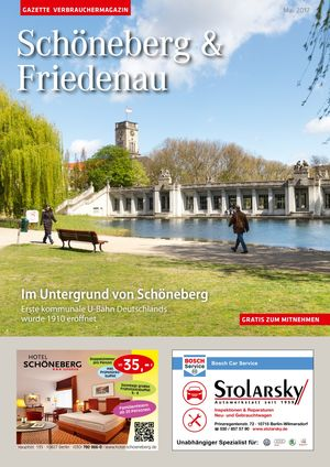 Titelbild Schöneberg & Friedenau 5/2017