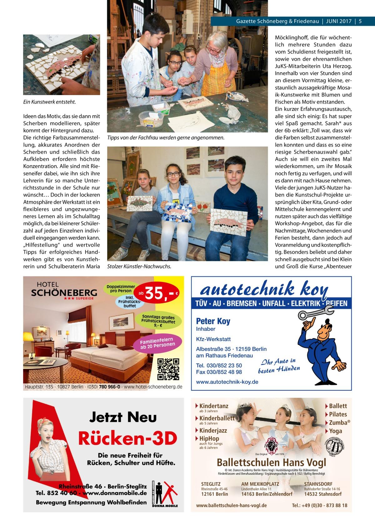 Gazette Schöneberg & Friedenau - Juni 2017