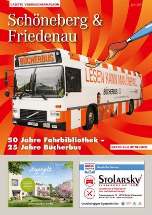 Titelbild Schöneberg & Friedenau 7/2017
