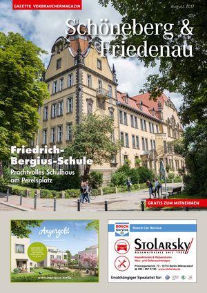Titelbild Schöneberg & Friedenau 8/2017