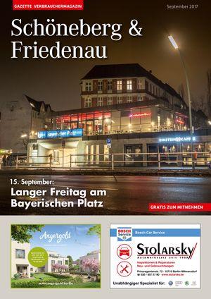 Titelbild Schöneberg & Friedenau 9/2017