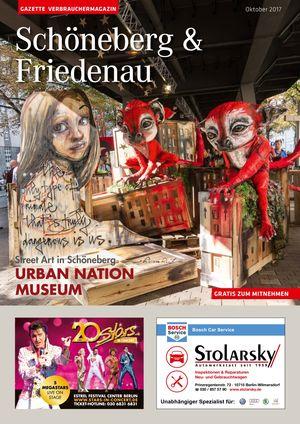 Titelbild Schöneberg & Friedenau 10/2017
