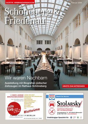 Titelbild Schöneberg & Friedenau 2/2018