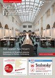 Titelbild: Gazette Schöneberg & Friedenau Februar Nr. 2/2018