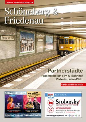 Titelbild Schöneberg & Friedenau 3/2018