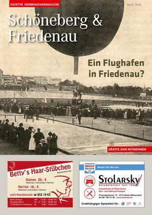 Titelbild Schöneberg & Friedenau 4/2018
