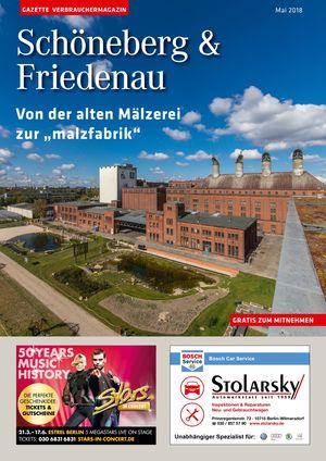 Titelbild Schöneberg & Friedenau 5/2018