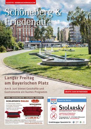 Titelbild Schöneberg & Friedenau 6/2018