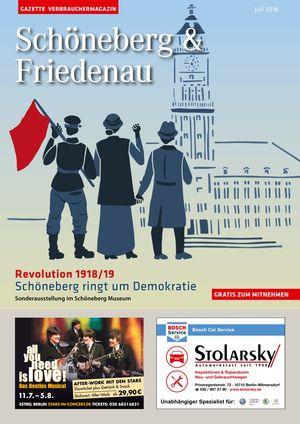 Titelbild Schöneberg & Friedenau 7/2018