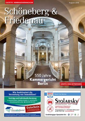 Titelbild Schöneberg & Friedenau 8/2018