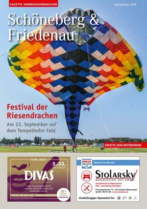 Titelbild Schöneberg & Friedenau 9/2018