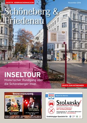 Titelbild Schöneberg & Friedenau 11/2018