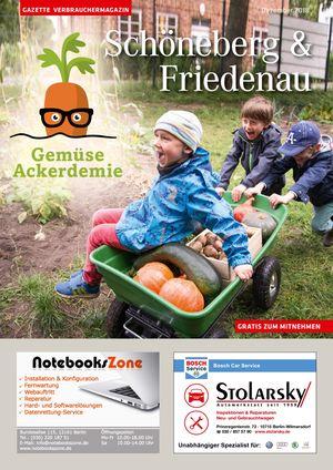 Titelbild Schöneberg & Friedenau 12/2018