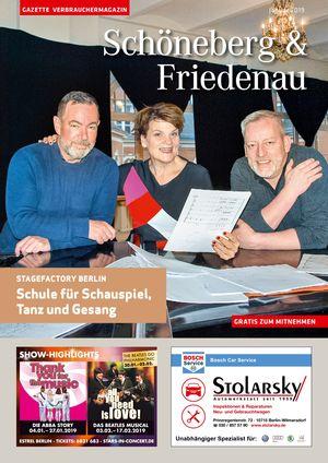 Titelbild Schöneberg & Friedenau 1/2019