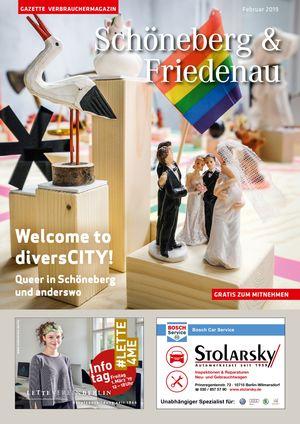 Titelbild Schöneberg & Friedenau 2/2019