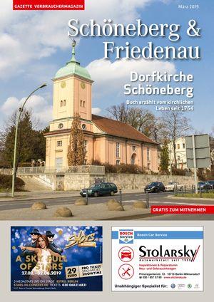 Titelbild Schöneberg & Friedenau 3/2019