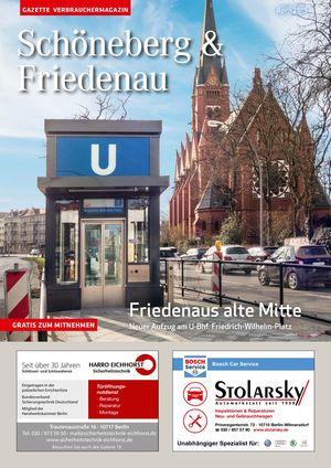 Titelbild Schöneberg & Friedenau 4/2019