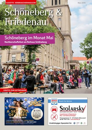Titelbild Schöneberg & Friedenau 5/2019