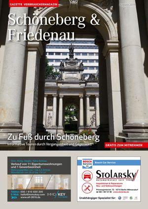 Titelbild Schöneberg & Friedenau 8/2019