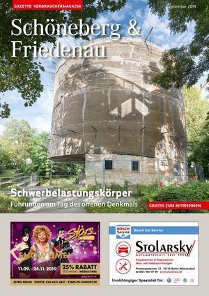 Titelbild Schöneberg & Friedenau 9/2019