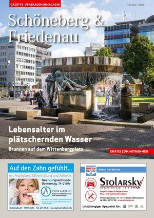 Titelbild Schöneberg & Friedenau 10/2019