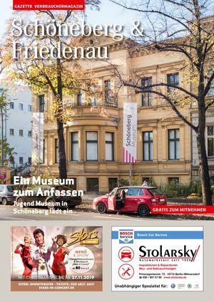Titelbild Schöneberg & Friedenau 11/2019