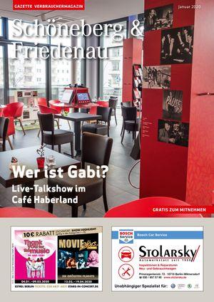 Titelbild Schöneberg & Friedenau 1/2020