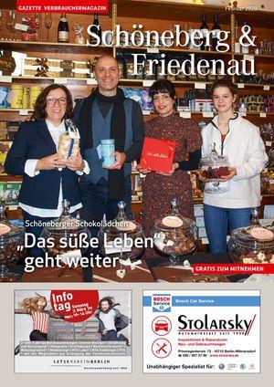 Titelbild Schöneberg & Friedenau 2/2020