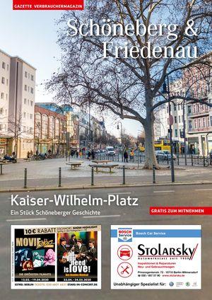 Titelbild Schöneberg & Friedenau 3/2020