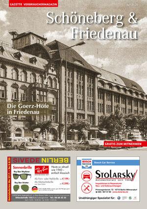 Titelbild Schöneberg & Friedenau 7/2020