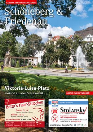 Titelbild Schöneberg & Friedenau 8/2020