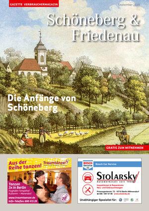 Titelbild Schöneberg & Friedenau 9/2020