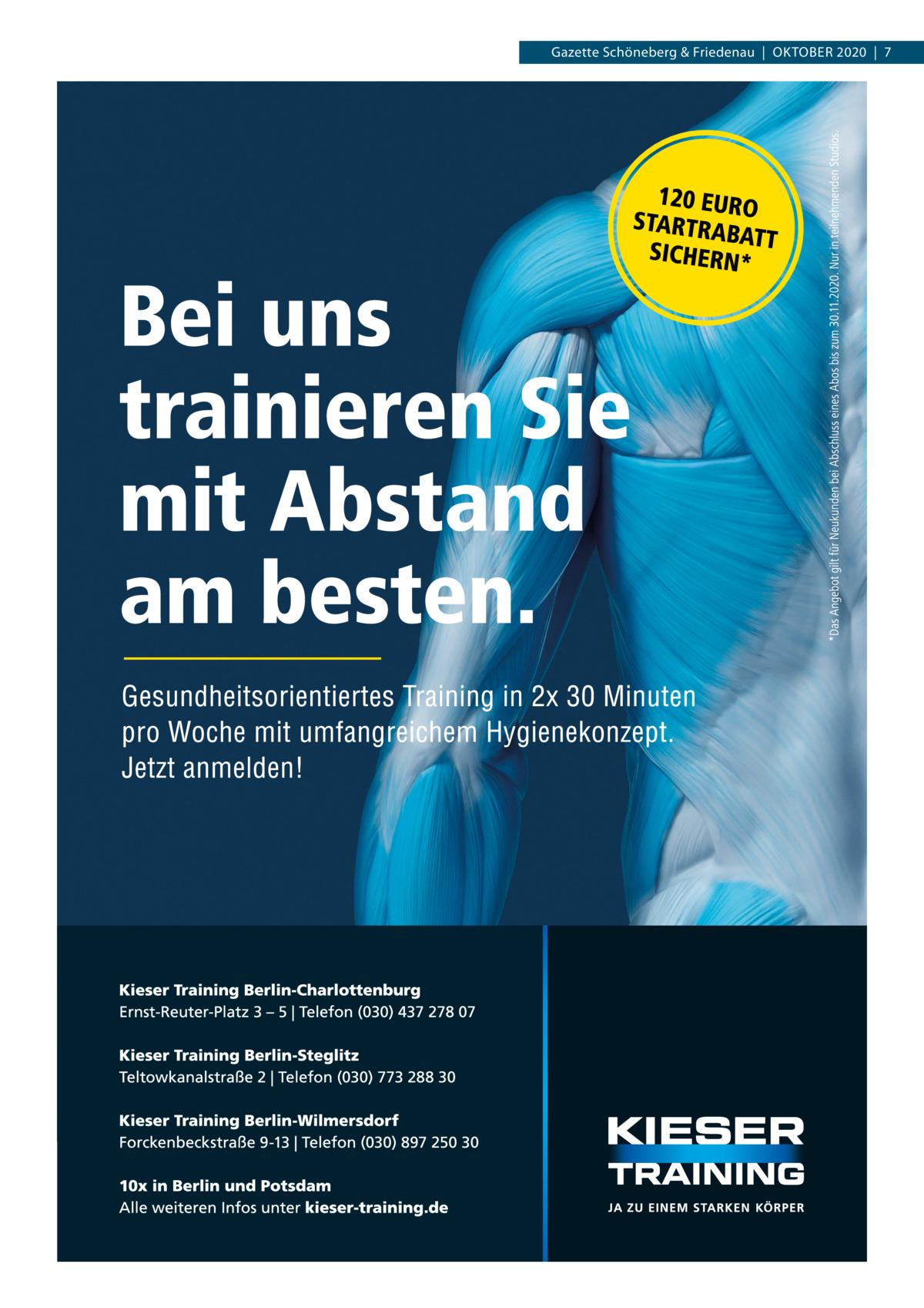 Gazette Schöneberg & Friedenau|Oktober 2020|7