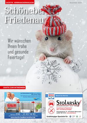 Titelbild Schöneberg & Friedenau 12/2020