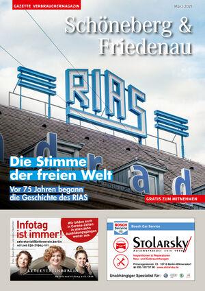 Titelbild Schöneberg & Friedenau 3/2021