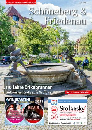 Titelbild Schöneberg & Friedenau 7/2021