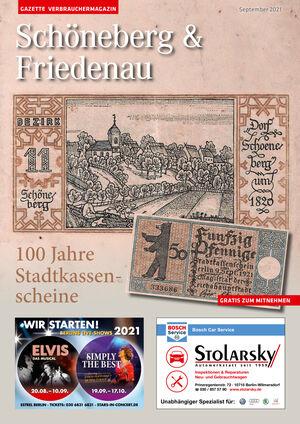 Titelbild Schöneberg & Friedenau 9/2021