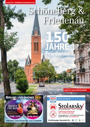 Titelbild Schöneberg & Friedenau 10/2021