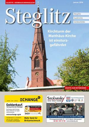 Titelbild Steglitz 1/2016