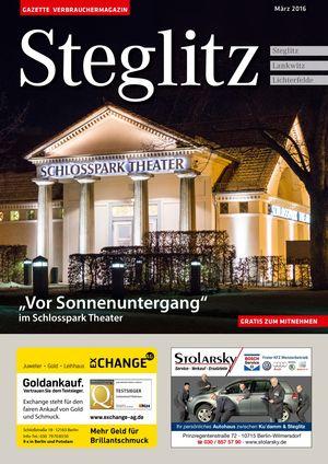 Titelbild Steglitz 3/2016