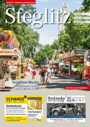 Titelbild Steglitz 5/2016