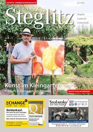 Titelbild Steglitz 7/2016