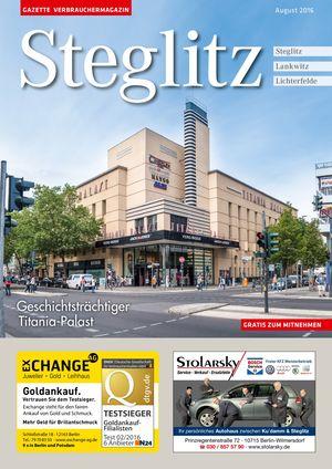 Titelbild Steglitz 8/2016