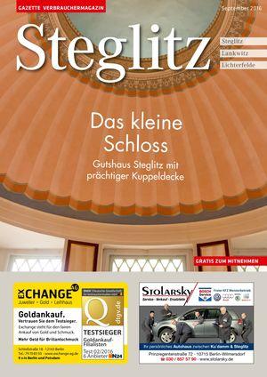 Titelbild Steglitz 9/2016
