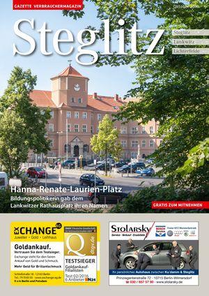 Titelbild Steglitz 10/2016